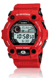 Casio Men's G-Shock Digital Watch G-7900A-4ER  Red